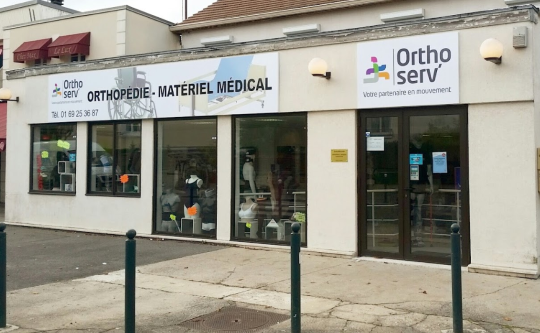 Orthoserv magasin materiel medical