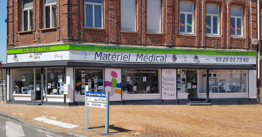 orthoserv armentieres materiel medical