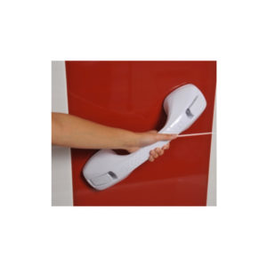 Barre d'appui à ventouses 40 cm
