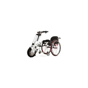 La cinquième roue electrique pour fauteuil roulant